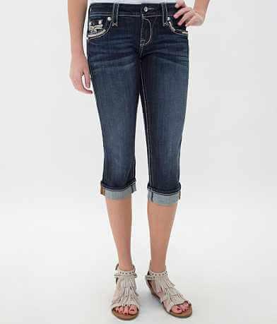 Rock Revival Rubella Easy Cropped Jean