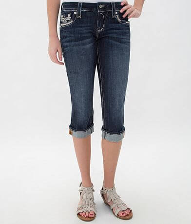 Rock Revival Rubella Easy Cropped Jean