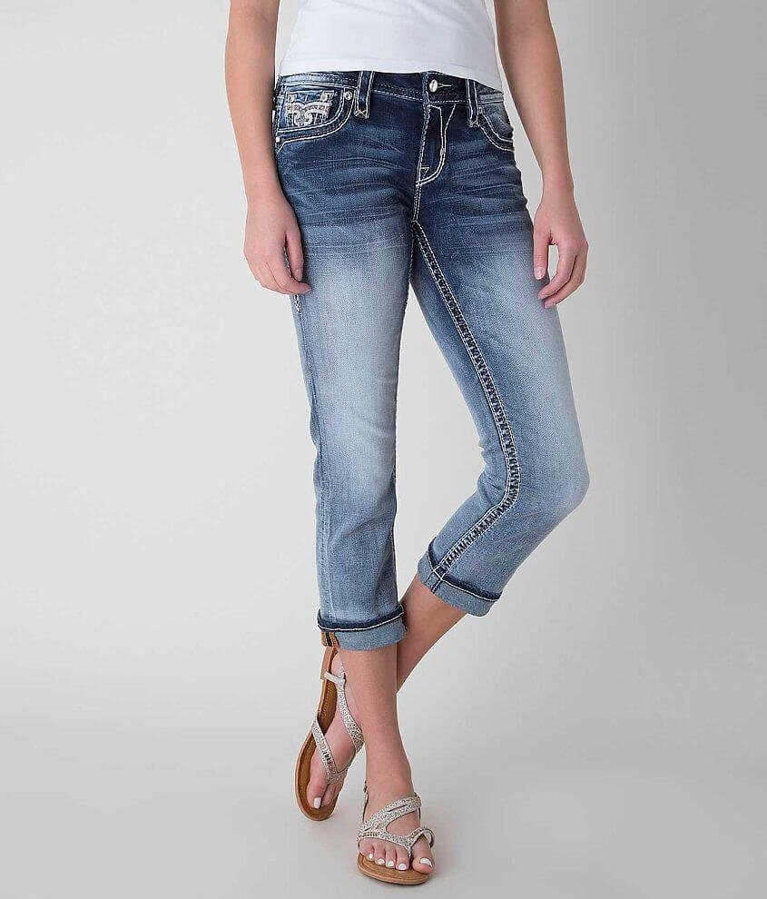 Rock Revival Audrina Easy Stretch Cropped Jean front view