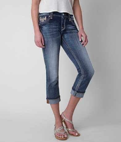 Rock Revival Legeia Easy Stretch Cropped Jean