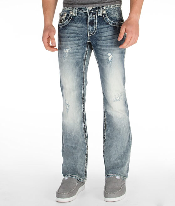 Rock Revival Kasper Slim Boot Jean - Men's Jeans in Kasper BM2 ...
