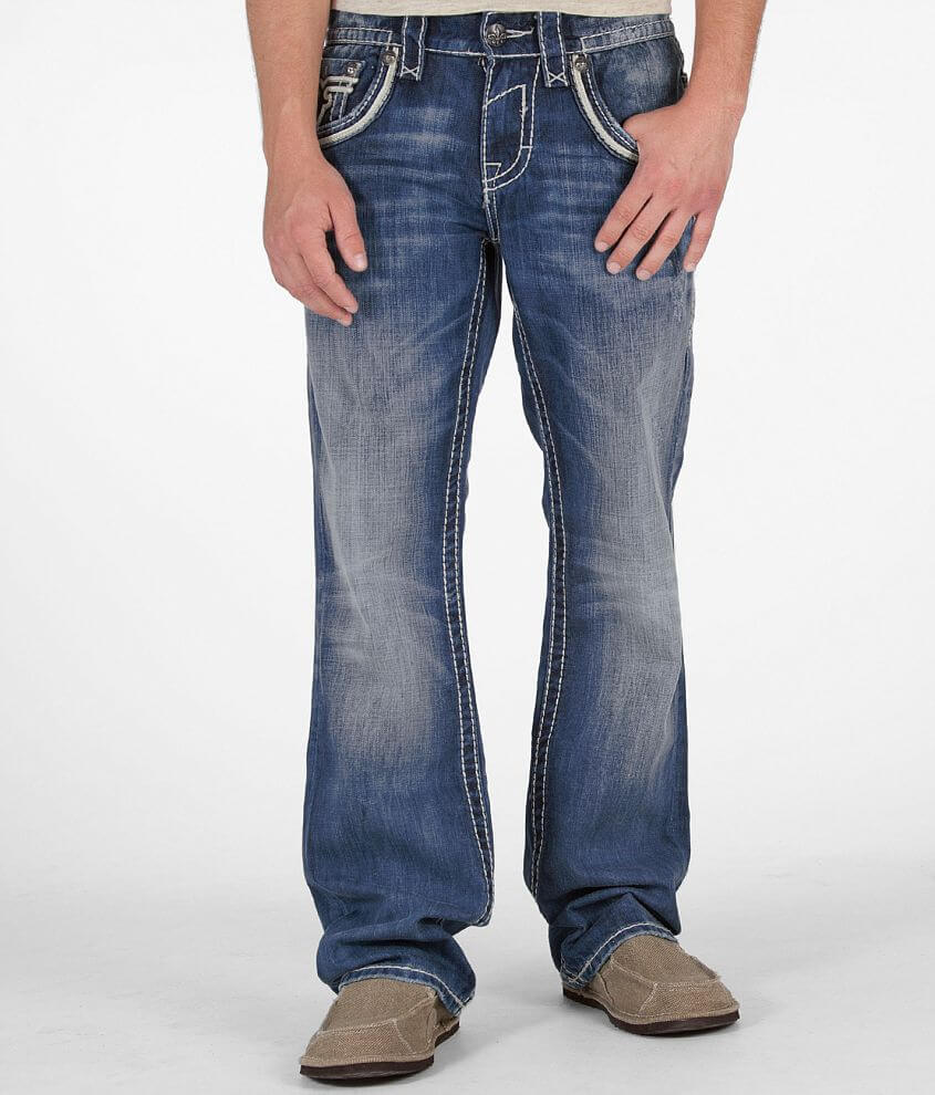 Rock Revival Tucker Boot Jean front view