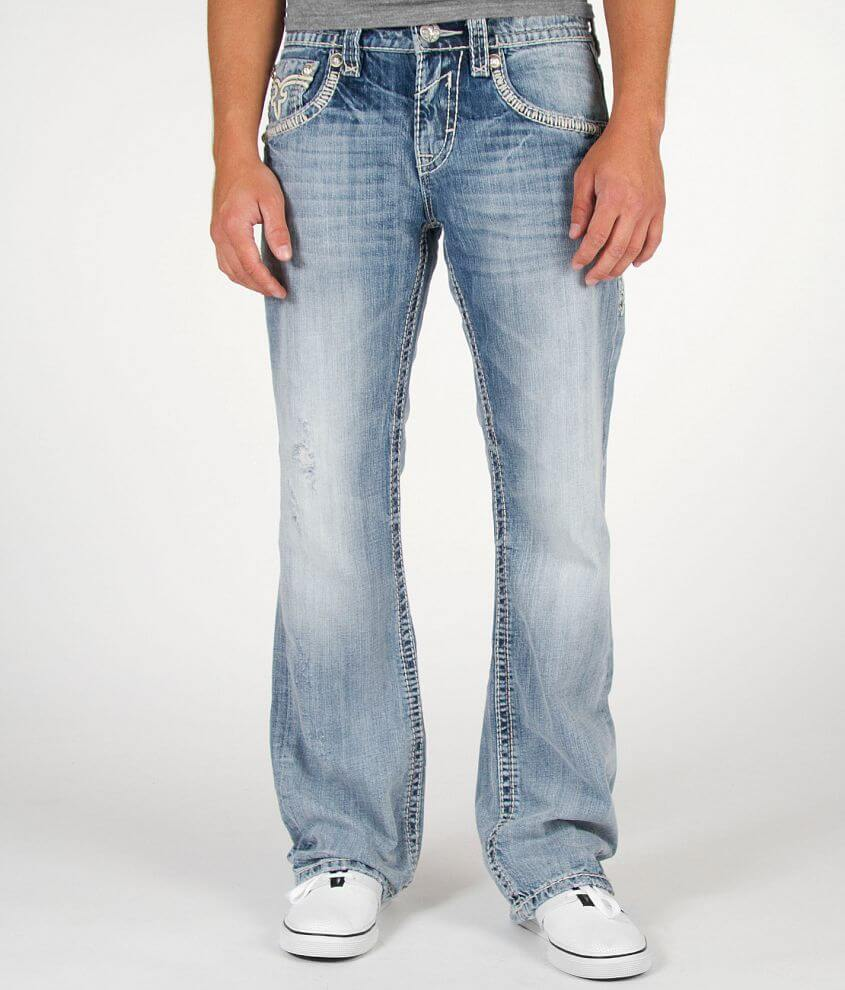 Rock Revival Nelson Boot Stretch Jean front view