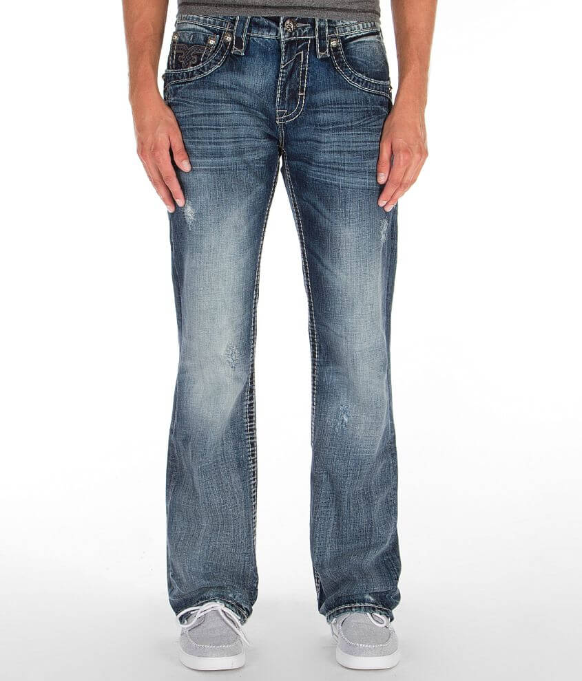 Rock Revival James Boot Jean front view