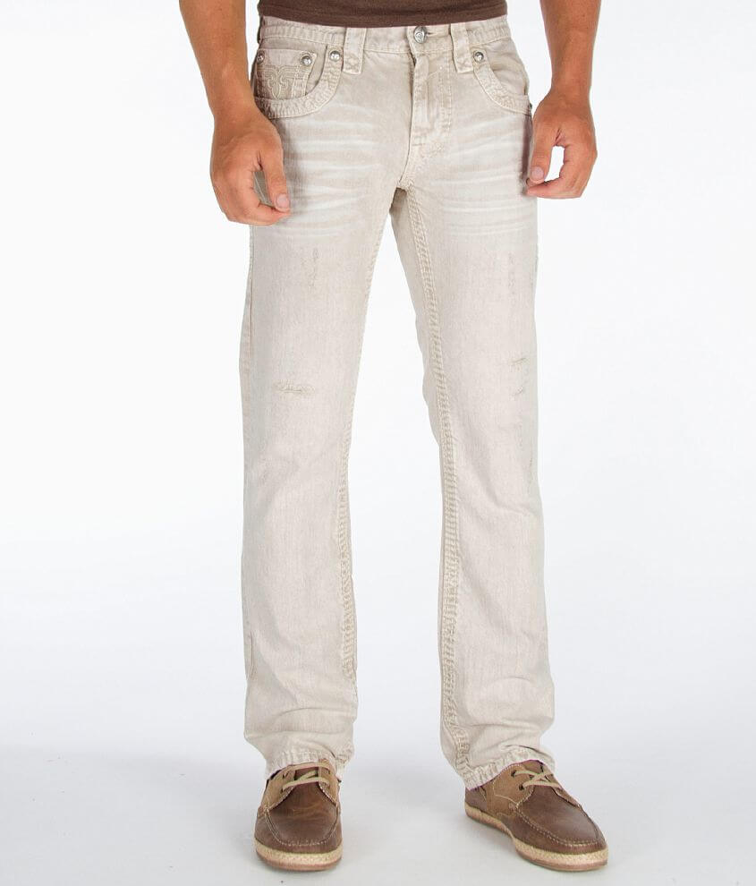Rock Revival James Slim Straight Jean front view