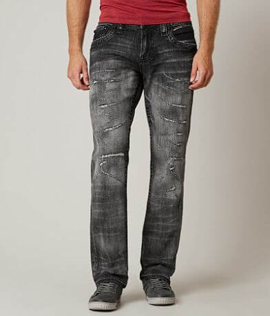 Rock Revival Jack Relaxed Straight 17 Stretch Jean