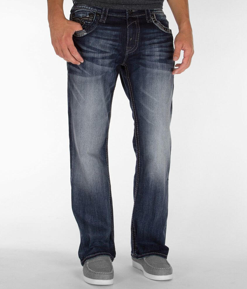 Rock Revival Destin Relaxed Straight Jean front view