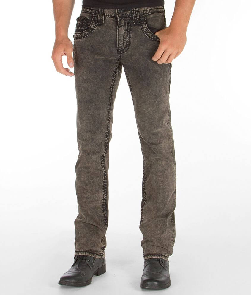 Rock Revival Kayne Slim Straight Stretch Jean front view
