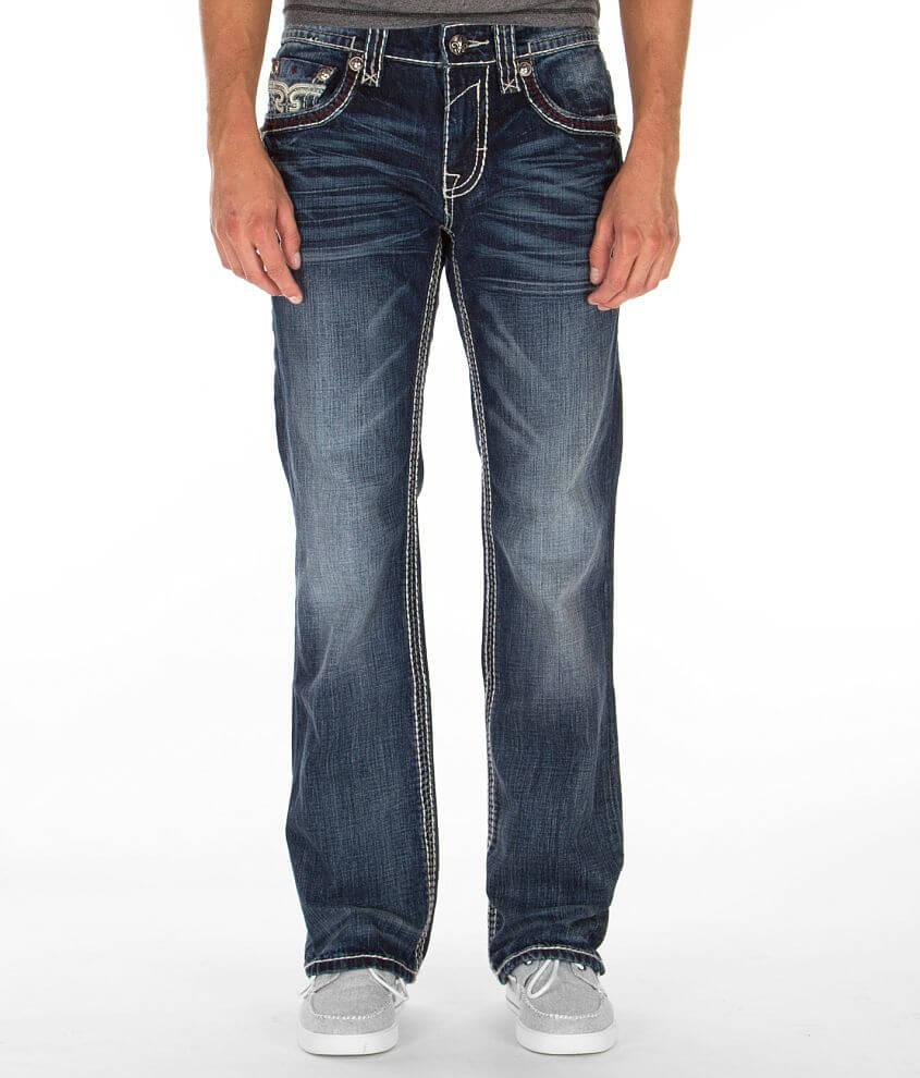 Regular fit bootcut jean Mid-rise, 19 1/2\\\