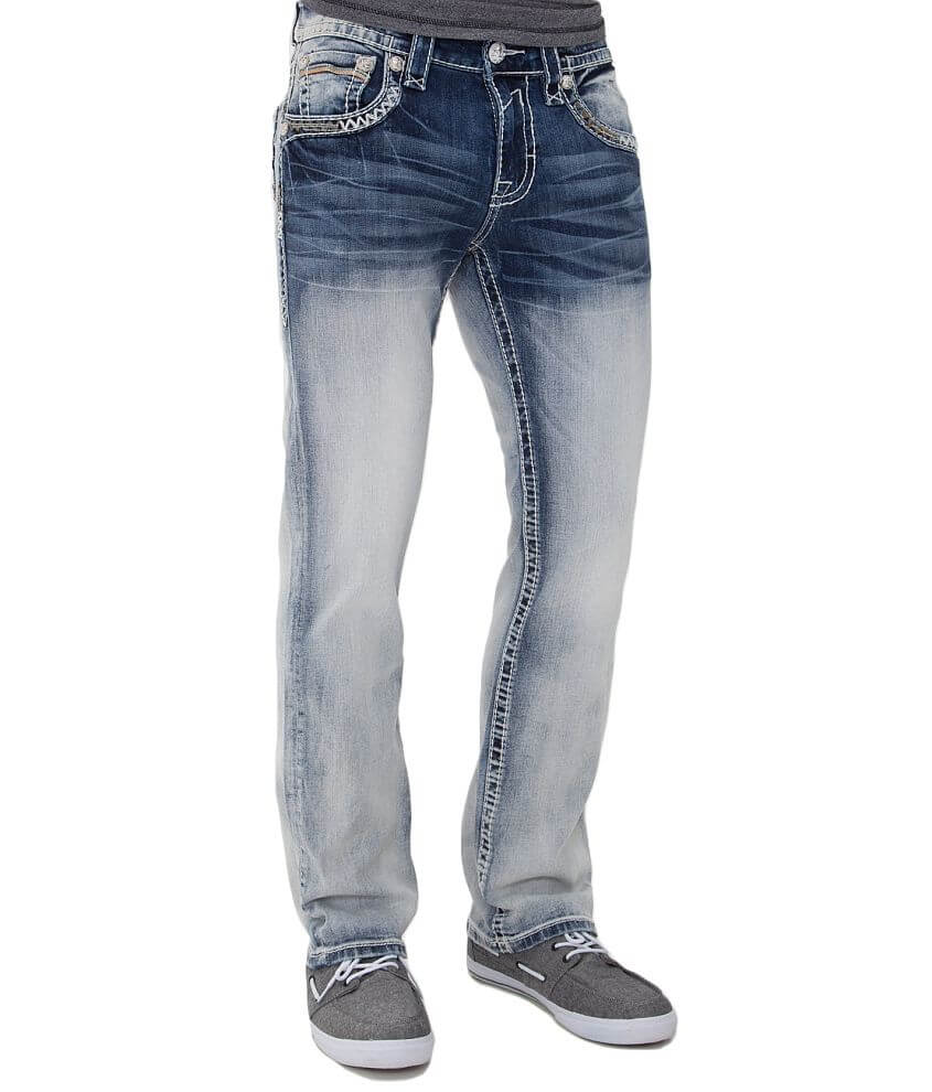 Rock Revival Clark Straight Jean front view