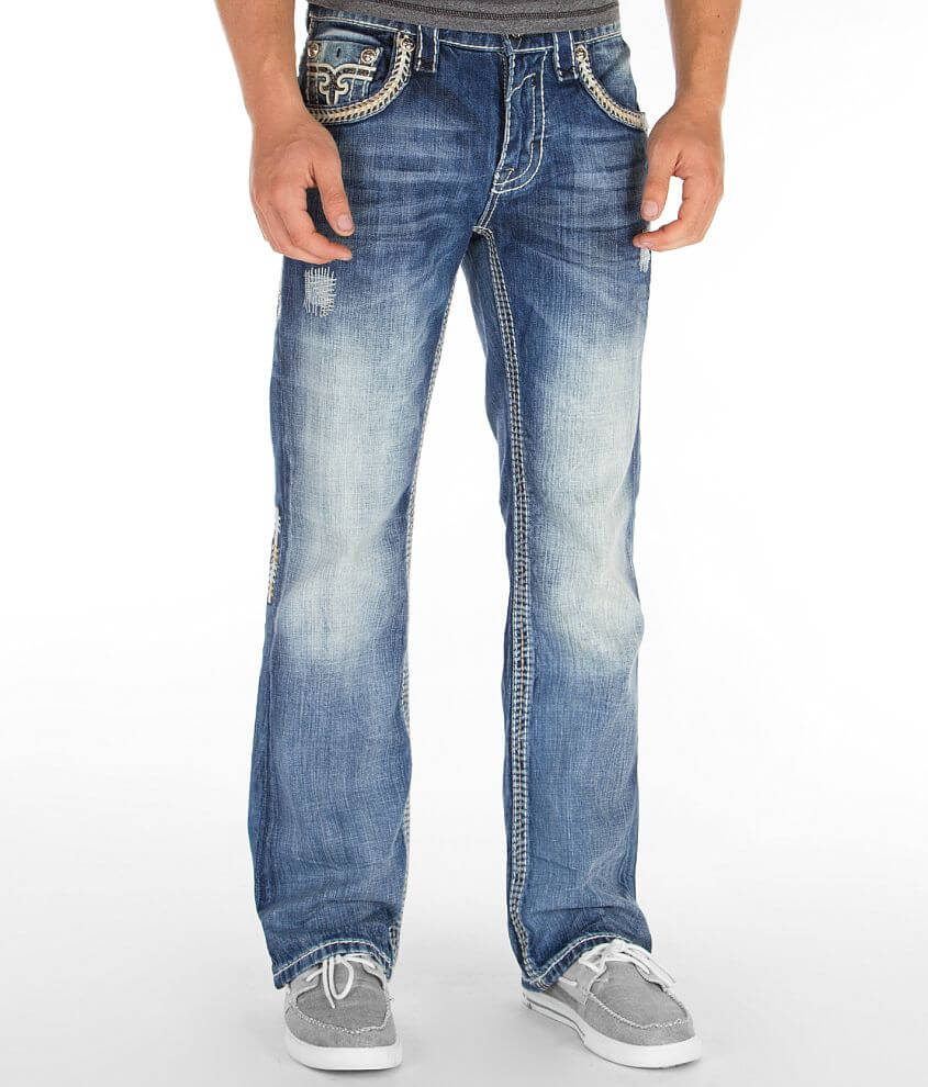 Rock Revival Triton Boot Jean front view