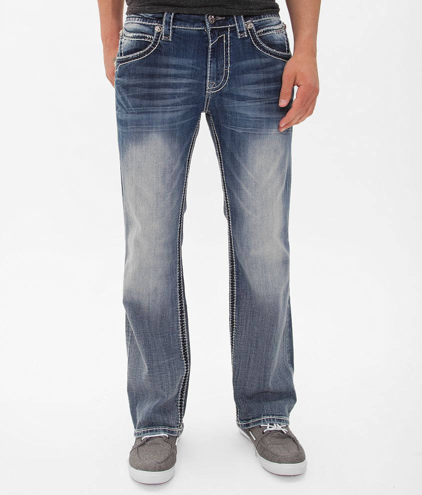 Rock Revival Mike Relaxed Straight Jean front view