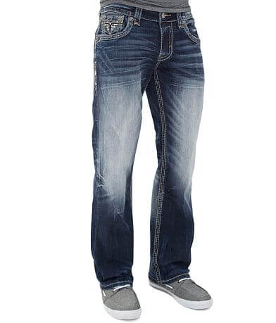 Rock Revival Pevey Relaxed Straight Stretch Jean