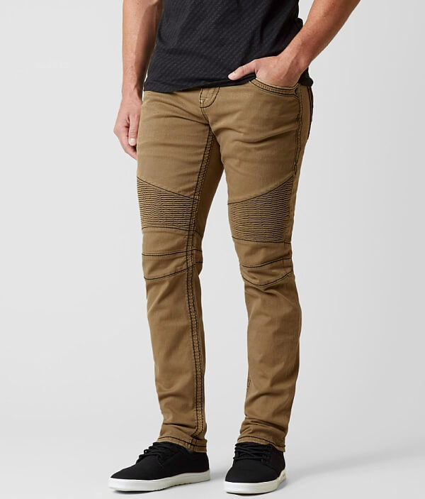 Stretch Revival Rock Twill Biker Pant EBWqPH