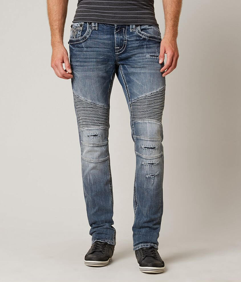 Rock Revival Novert Slim Straight Stretch Jean front view