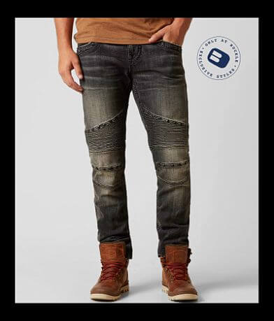 Rock Revival Jerry Biker Straight Stretch Jean