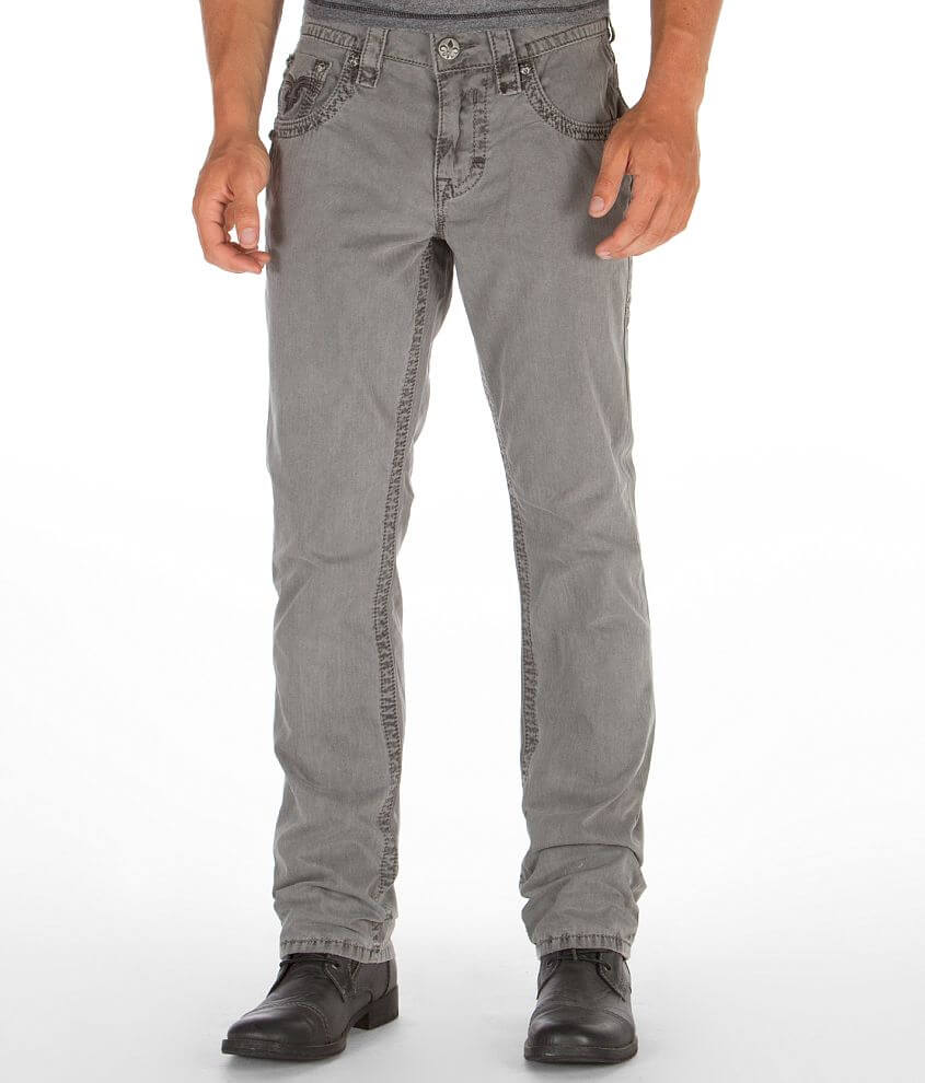 Rock Revival Twill Slim Straight Pant front view