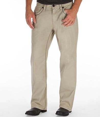 Rock Revival Relaxed Straight Twill Pant