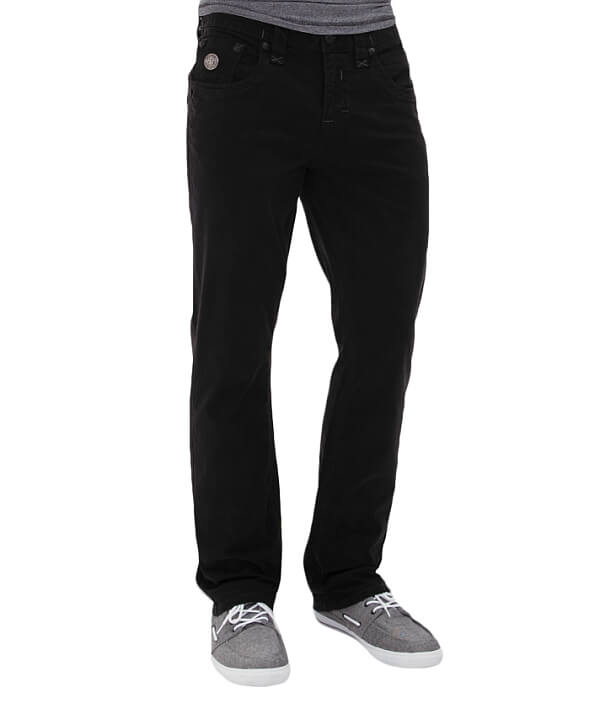 Twill Pant Stretch Straight Revival Rock zxTH1t