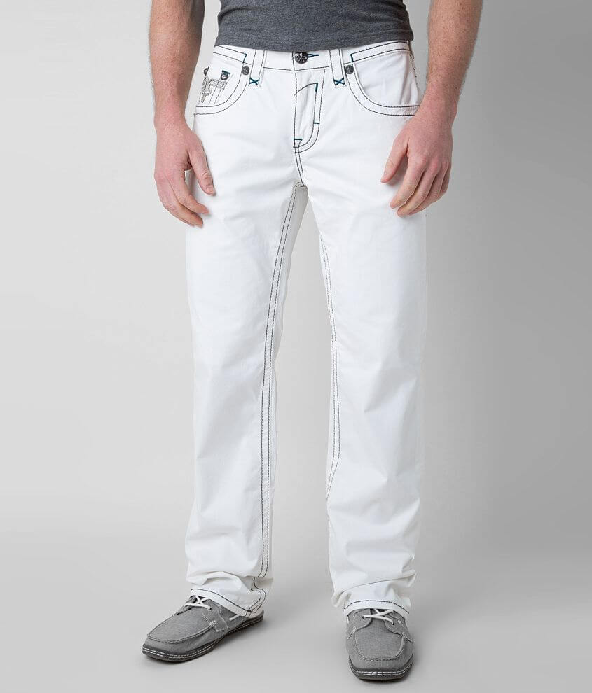 Rock Revival Twill Relaxed Straight Pant front view
