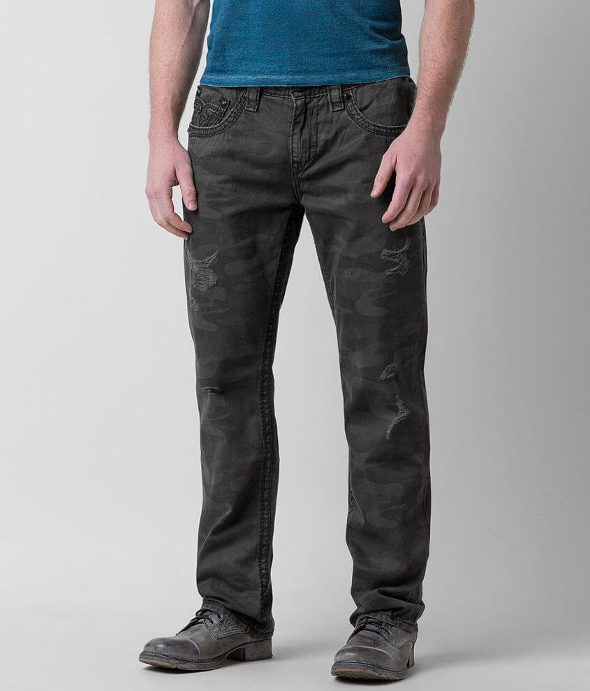 Rock Revival Relaxed Straight 17 Twill Pant front view
