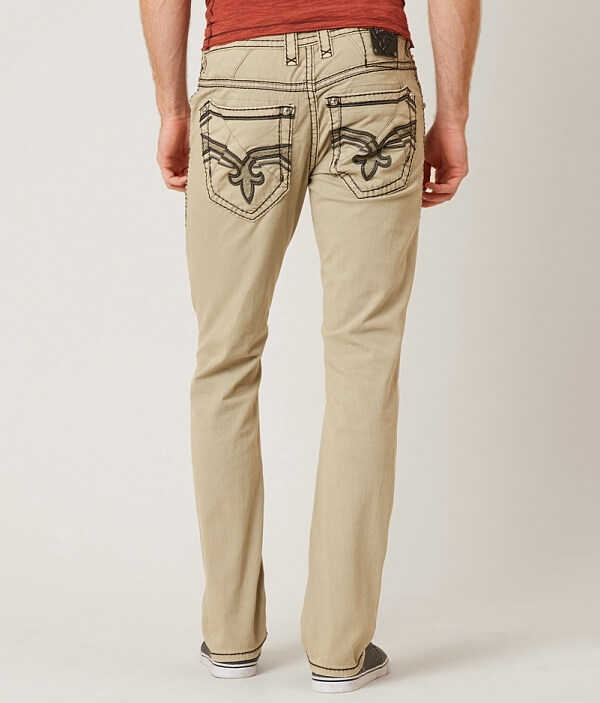 Pant Slim Stretch Straight Rock Revival Twill wXzxqT