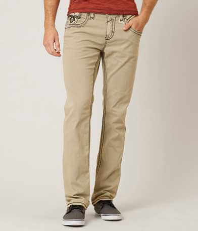 Rock Revival Twill Slim Straight Stretch Pant