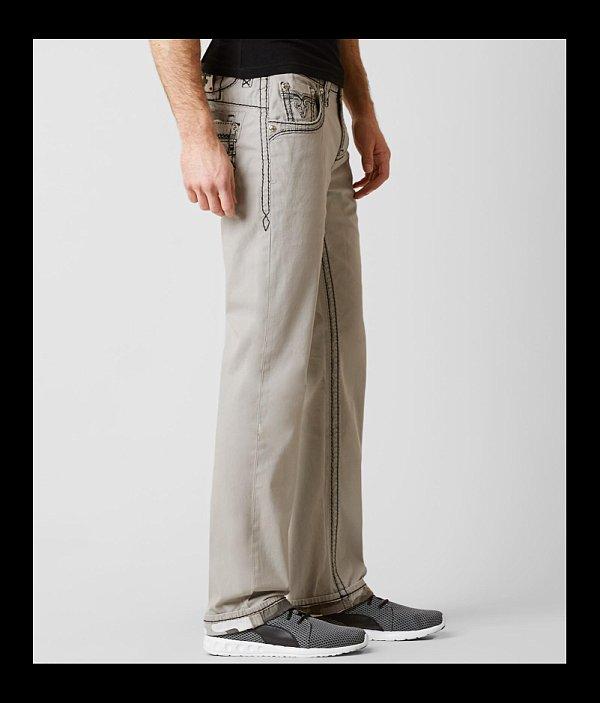 Stretch Twill Revival Straight Pant Rock qF6gYHw