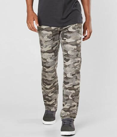 Rock Revival Camoflauge Straight Twill Pant
