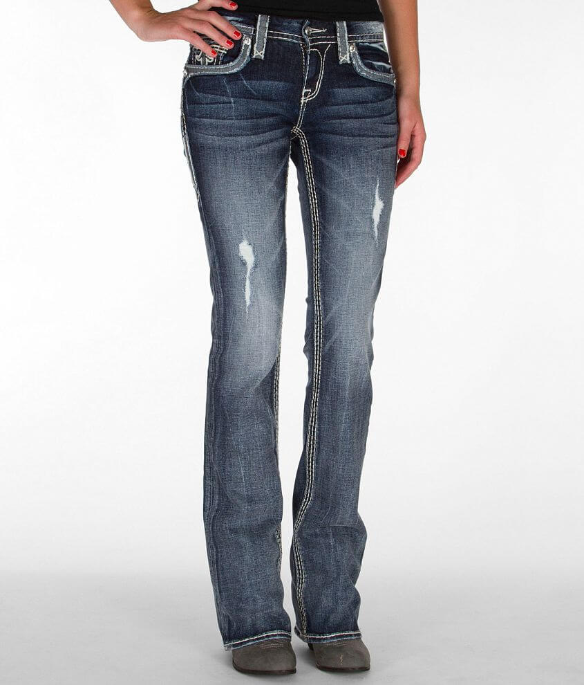 Rock Revival Stacey Boot Stretch Jean front view