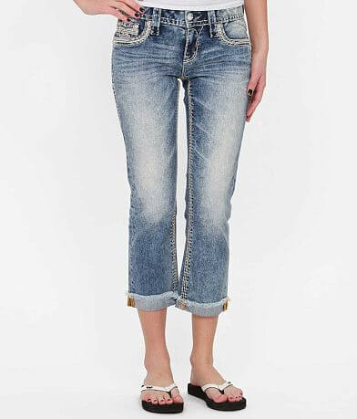 Rock Revival Janelle Stretch Cropped Jean