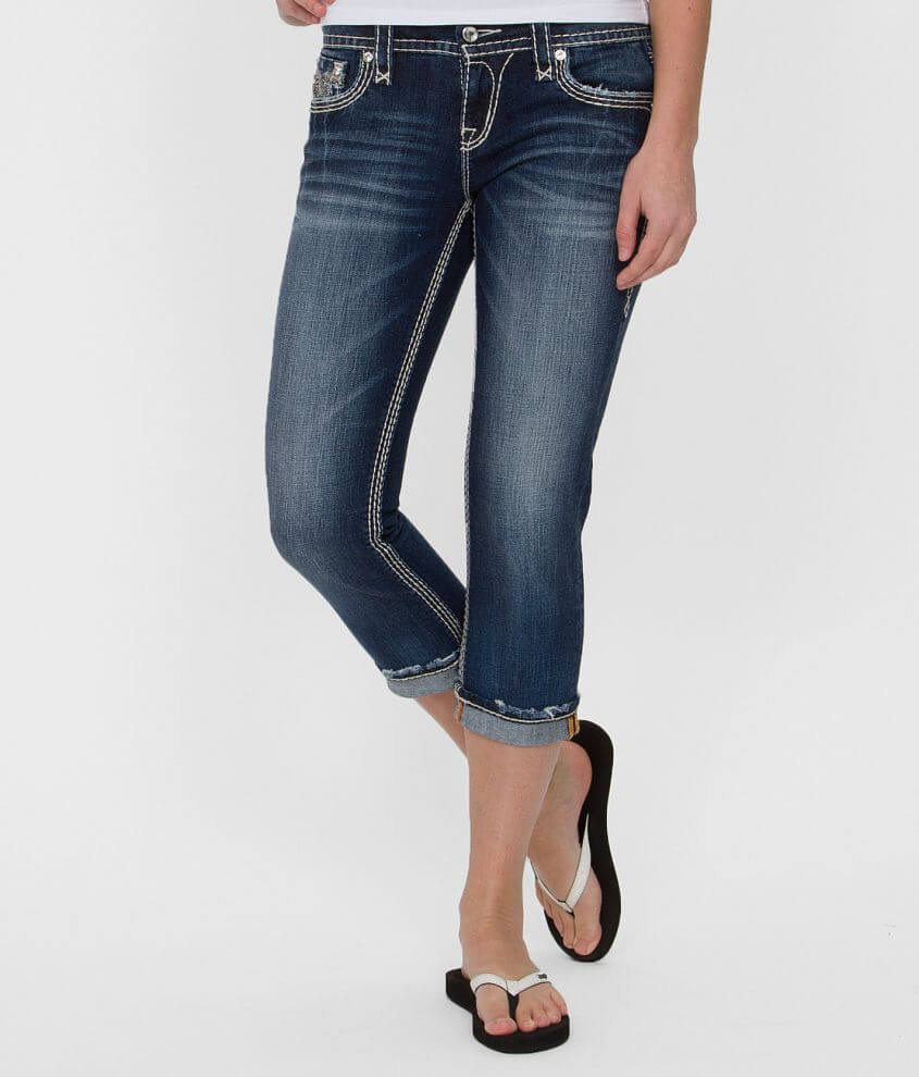 Rock Revival Junia Easy Stretch Cropped Jean front view