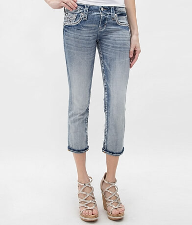Rock Revival Karla Stretch Cropped Jean