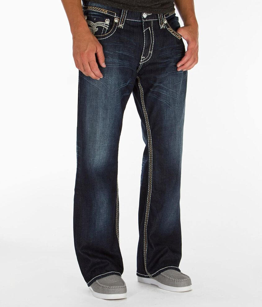 Rock Revival Pablo Relaxed Straight Jean front view