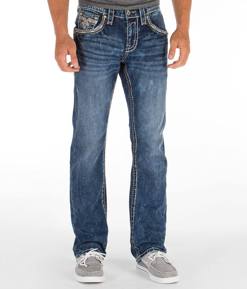 Rock Revival Teddy Slim Straight Jean front view