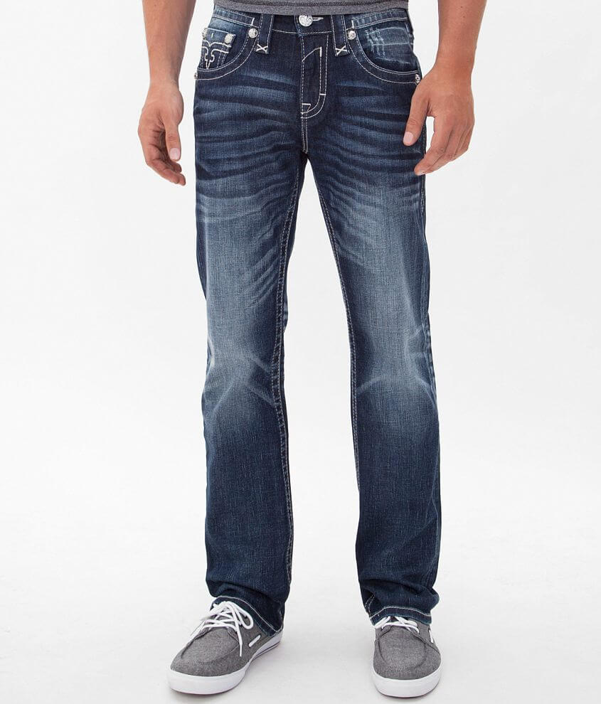 Rock Revival Layne Straight Jean front view