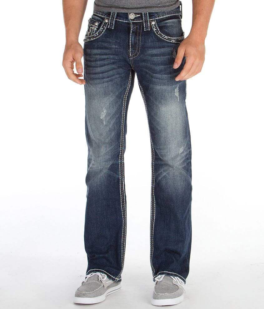Rock Revival Gage Boot Jean front view