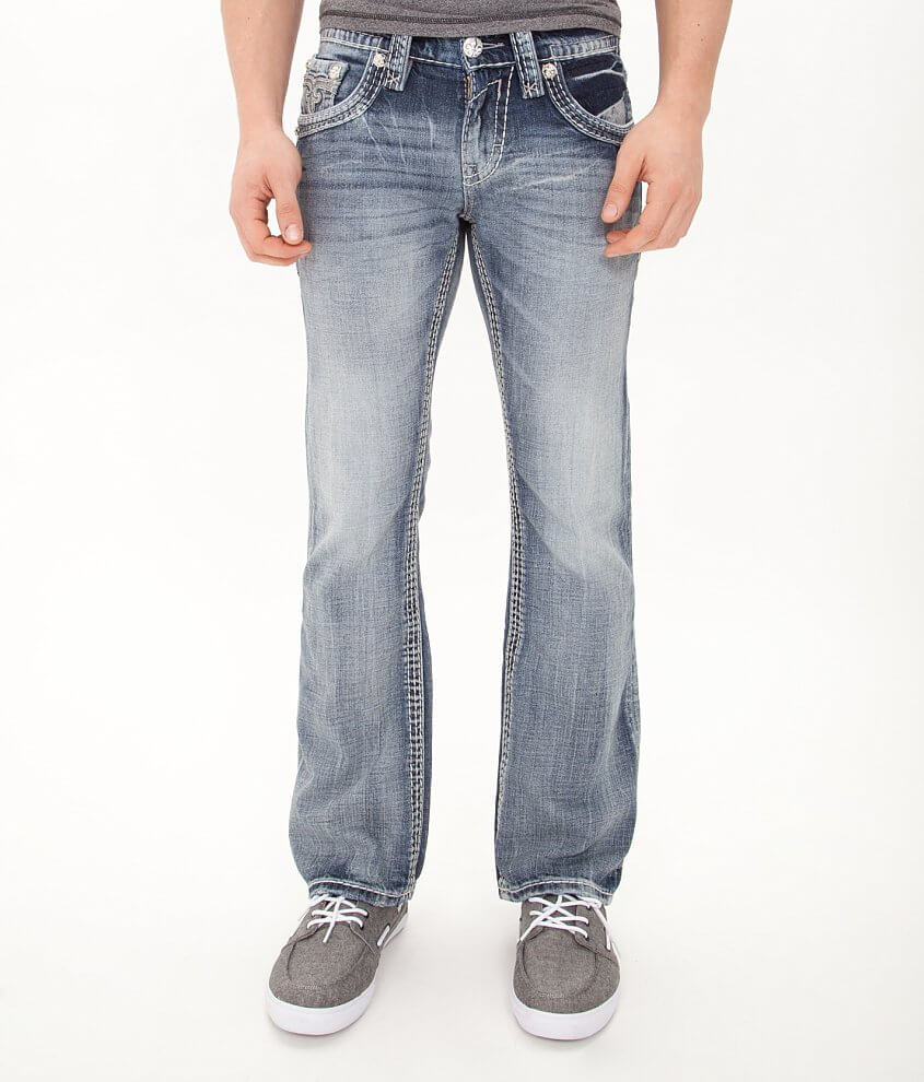 Rock Revival Loic Slim Boot Jean front view
