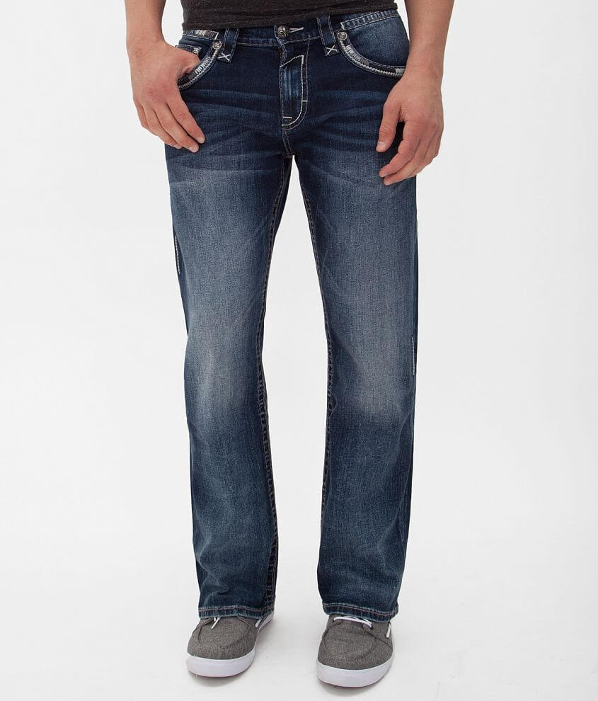 Rock Revival Orson Relaxed Straight Jean front view