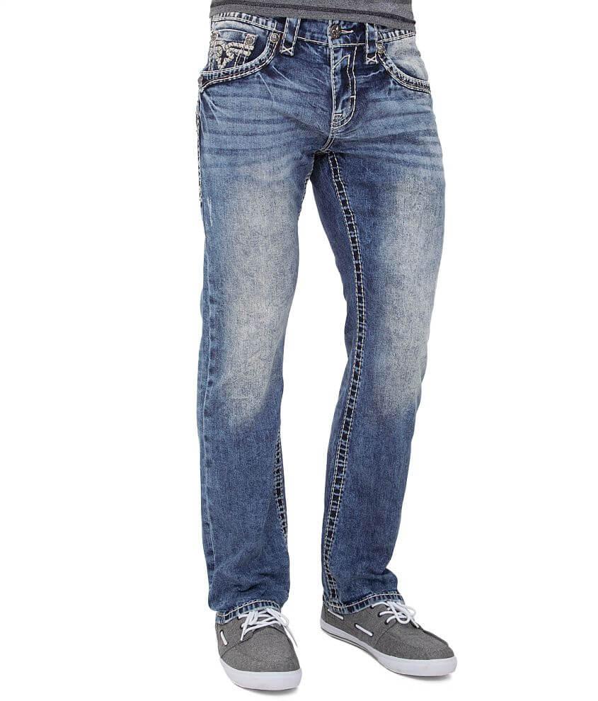 Rock Revival Orlando Slim Straight Jean front view
