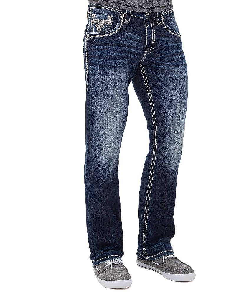 Rock Revival Ottwell Straight Jean front view