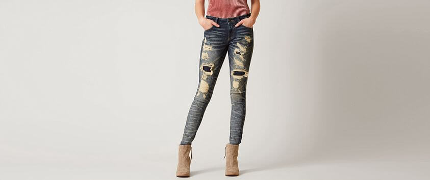 Remix by Rock Revival® Skinny Stretch Jean front view