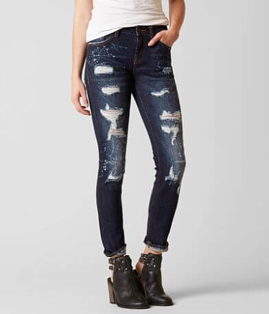 Rock Revival Remix Mid-Rise Skinny Stretch Jean