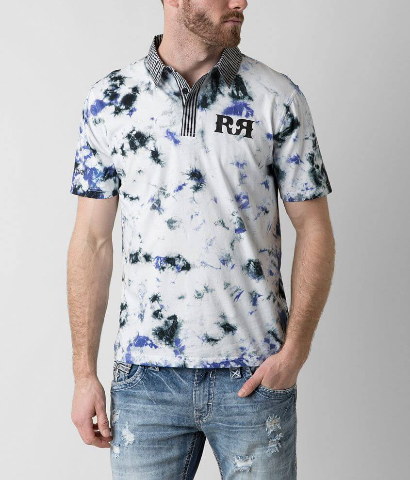 Rock Revival Clark Polo front view