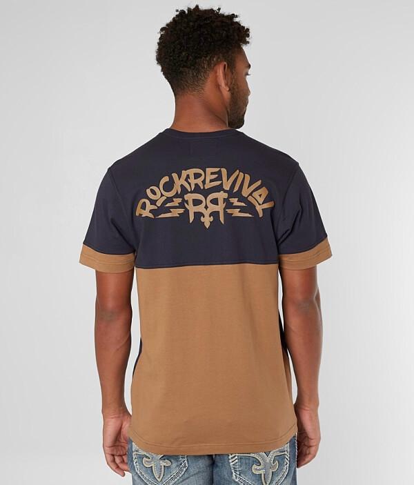 Rock Revival Revival Derrick T T Shirt Shirt Rock Rock Derrick Revival T Derrick wUYCqTg