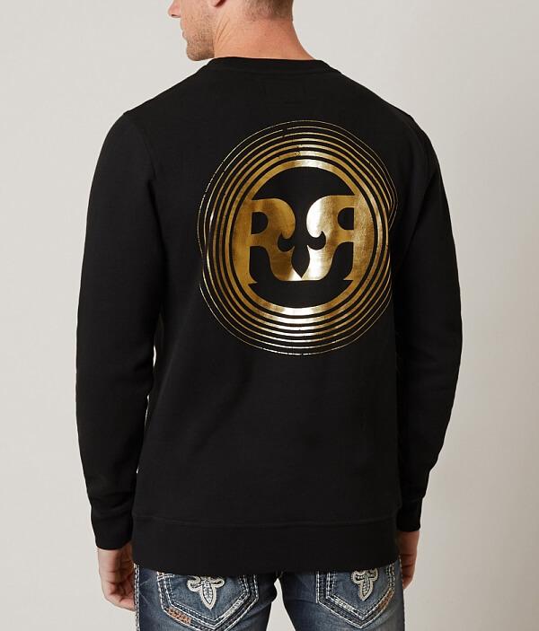 Rock Crew Sweatshirt Revival Rock Neck Rock Crew Crew Neck Revival Neck Revival Sweatshirt Sweatshirt rIfxrZp