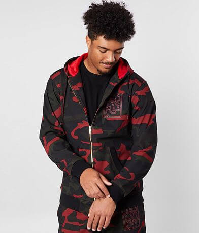 Rock Revival Brampton Camo Track Jacket