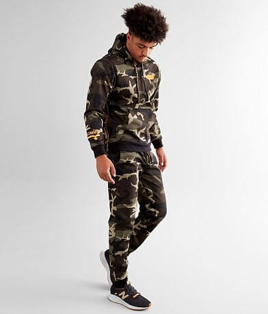 Rock Revival Vassar Camo Hooded Sweatshirt
