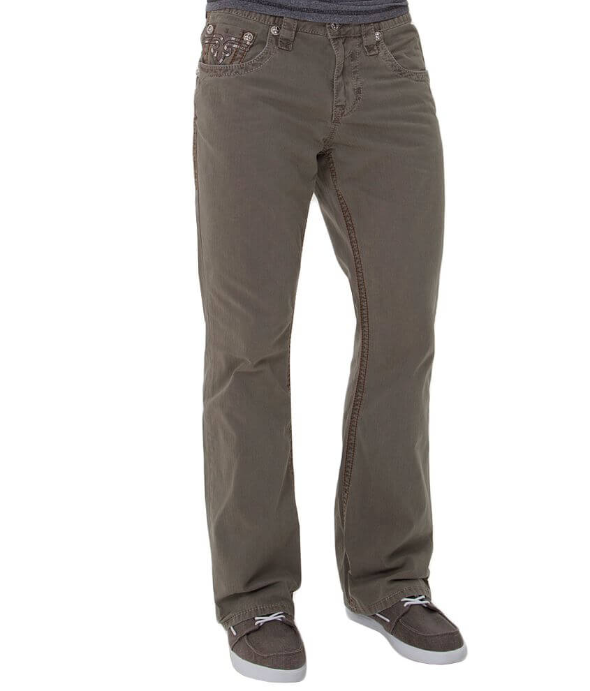Rock Revival Twill Boot Pant front view