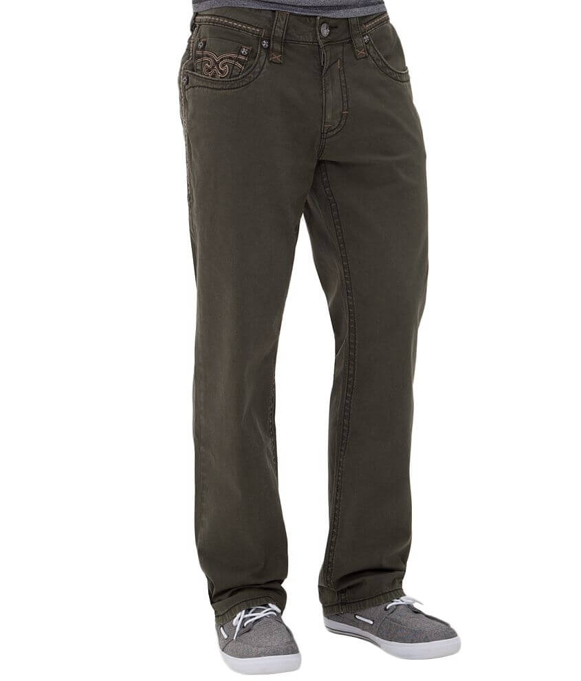 Rock Revival Twill Relaxed Pant front view